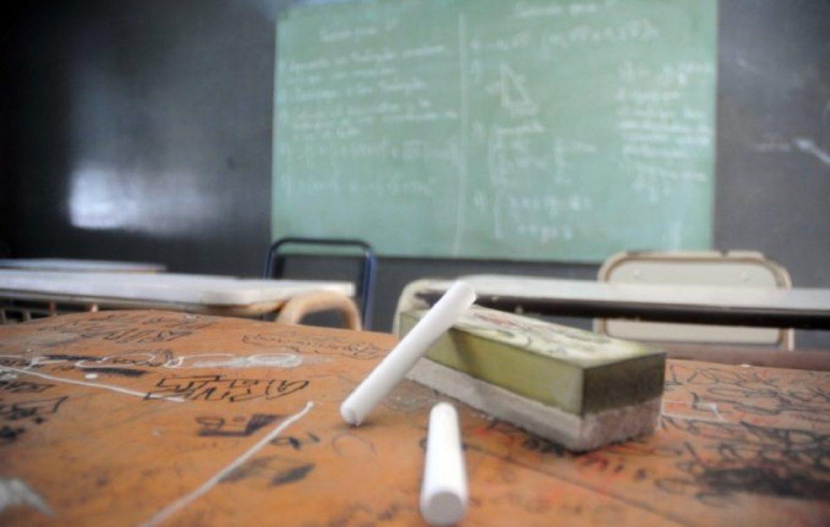 Reclamo de docentes municipales de Tucumán