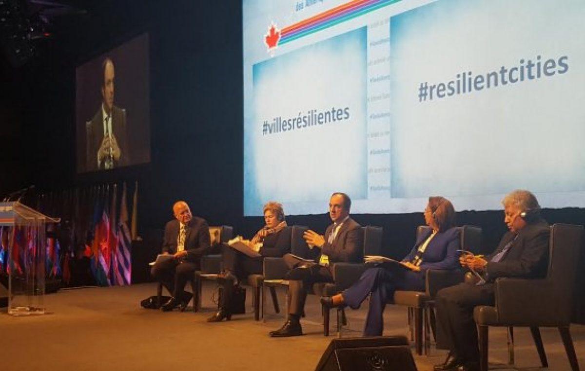 La ONU patrocinará la capacitación de municipios para prevenir catástrofes