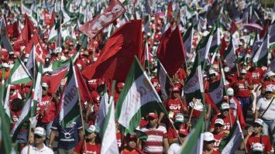 Se extienden las protestas contra el presidente de Brasil, Michel Temer