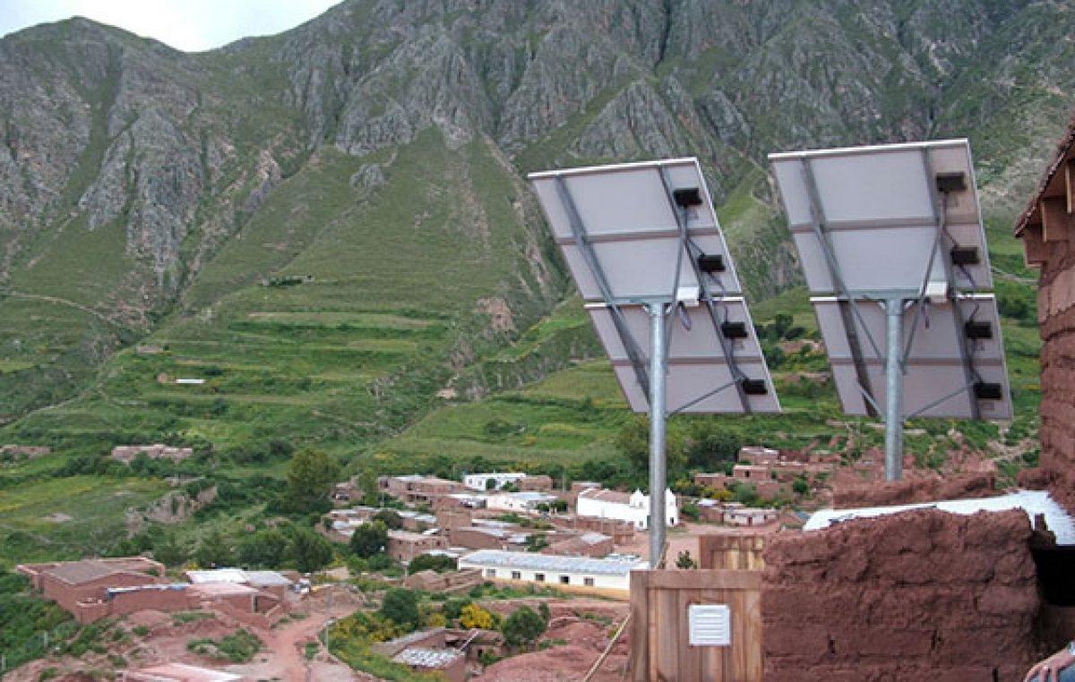 En Salta se instalarán más de 9.000 paneles solares para familias que viven en zonas rurales
