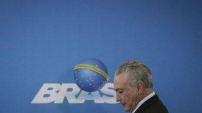 Un golpe a la economía de Brasil