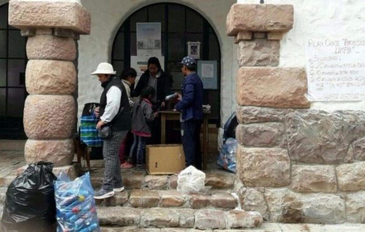 """Campaña """"Por mi ciudad más limpia"""" en Humahuaca"""