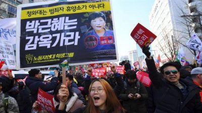 Destituyen a la Presidenta de Corea del Sur