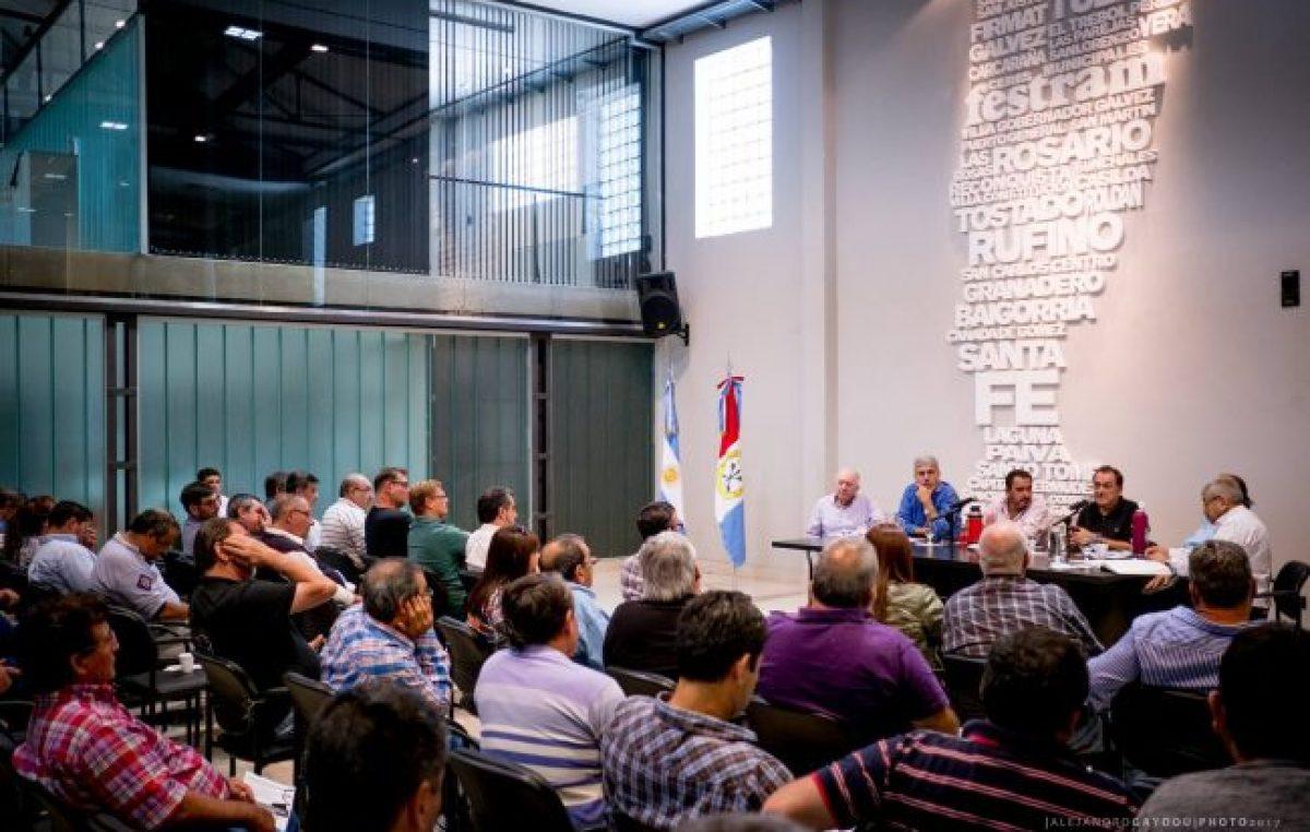 Municipales de Santa Fe ratifican medida de fuerza esta semana
