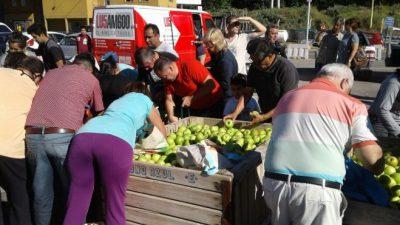Frutazo en Cipolletti y Neuquén