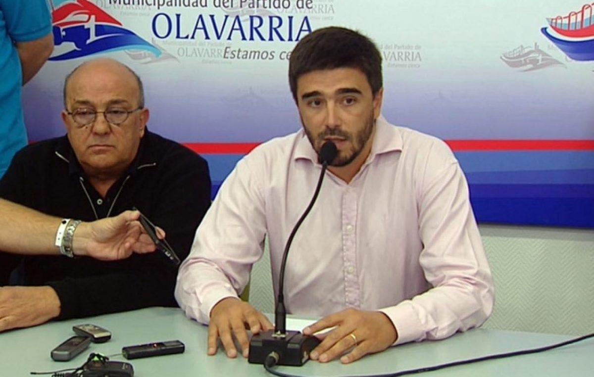 Galli dice que no tiene miedo de que lo destituyan, pero toda la política de Olavarría le apunta