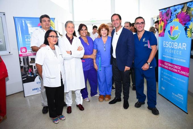 El Municipio de Escobar subsidió a un hospital bonaerense por falta de insumos