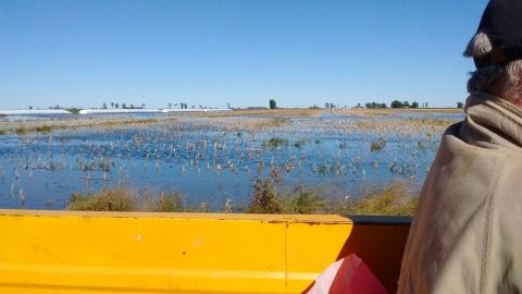 Una localidad de Villegas ya perdió cinco mil millones de pesos a causa de inundaciones