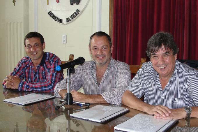 En General Alvear también mejoran las condiciones con los trabajadores municipales