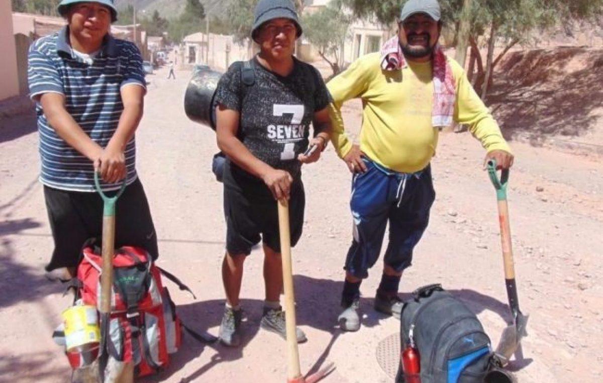 Iniciaron los trabajos en el camino de Tunalito