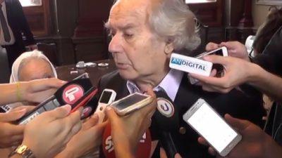 """Pérez Esquivel afirmó que el gobierno """"privilegia el capital financiero sobre la vida del pueblo"""""""