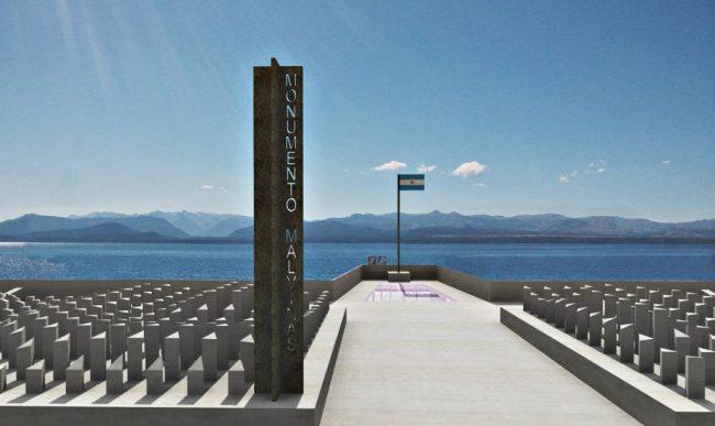 Así será el monumento a los ex combatientes de Malvinas en Bariloche