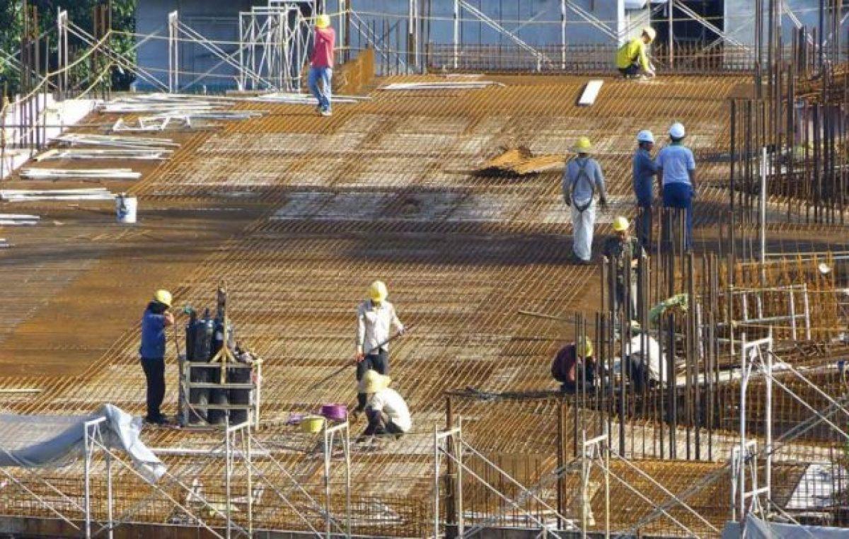 En picada: cayeron en febrero la industria y la construcción