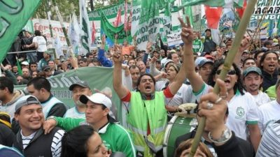 """Los gremios le respondieron a Macri: """"Es una marcha de los que la están pasando muy mal"""""""