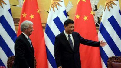 Uruguay insistirá con un Tratado de Libre Comercio con China