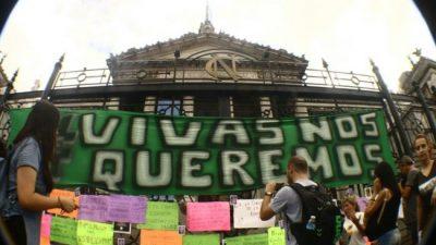 Miles de mujeres pararo y se movilizaron en todo el país contra la violencia machista y por la defensa de sus derechos