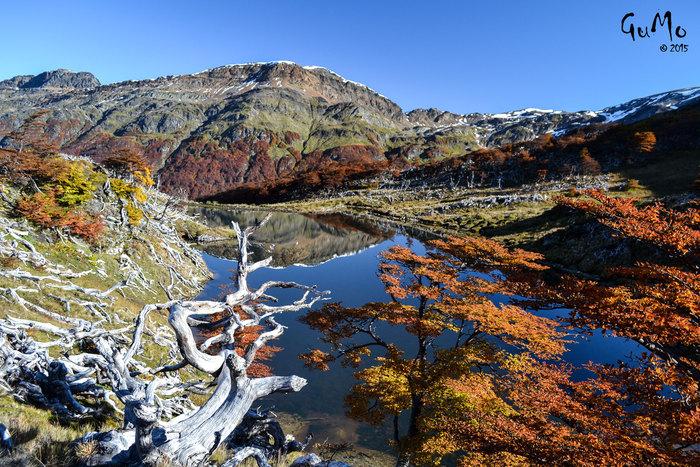 Descubrí las Lagunas Gemelas en Tierra del Fuego