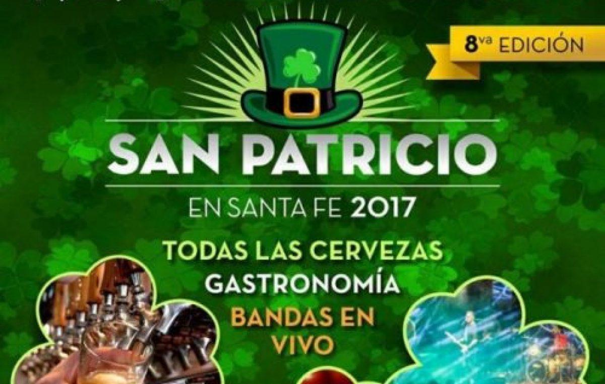Santa Fe se prepara para San Patricio 2017, 17, 18 y 19 de marzo.