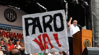 La Casa Rosada ratificó, tras la marcha sindical, que no cambiará la política económica