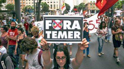 Huelga docente contra Temer por tiempo indeterminado
