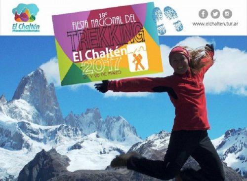 Fiesta Nacional del Trekking, El Chaltén, 24, 25 y 26 de marzo