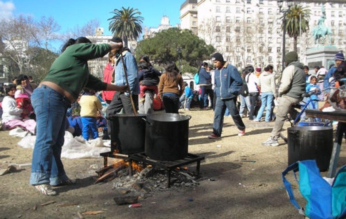 Piquetes, asambleas y ollas populares