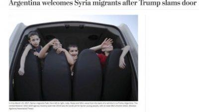"""El """"Washington Post"""" destacó el Corredor Humanitario que impulsa San Luis y su política migratoria"""