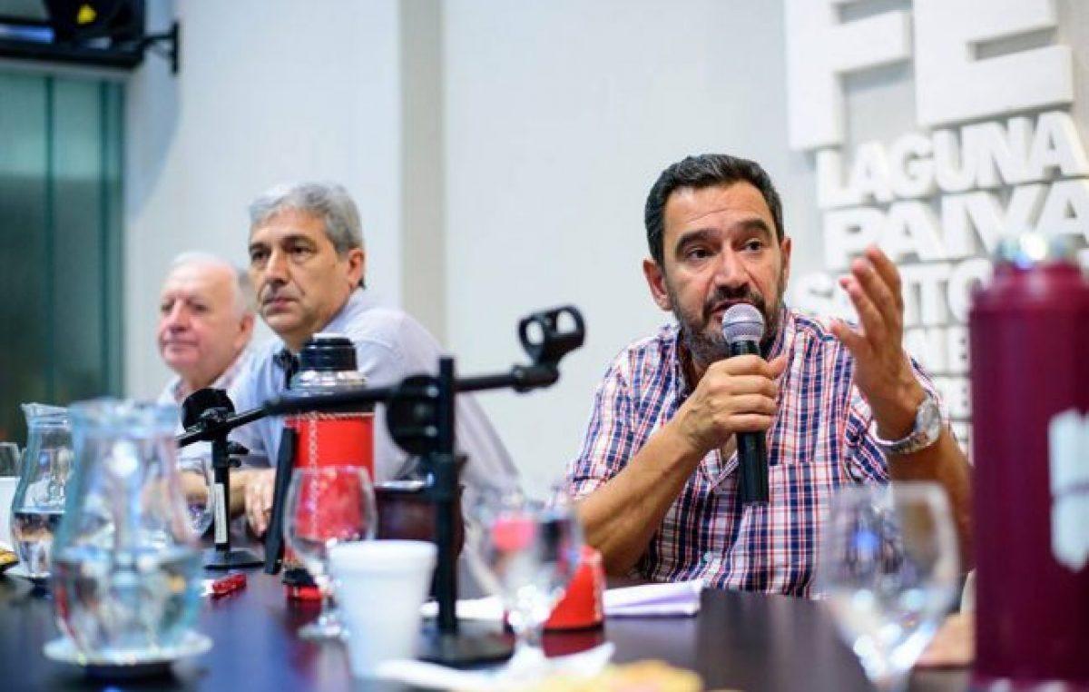 """Claudio Leoni: """"El 'diálogo' del gobierno es un monólogo"""""""