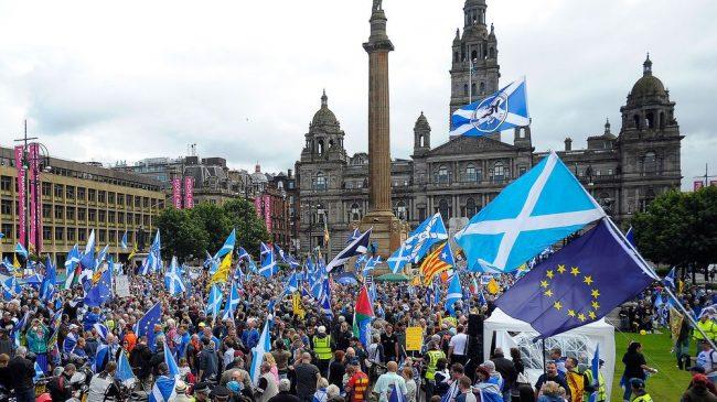 Escocia lanzó su nuevo referéndum independentista