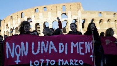 Manifestaciones feministas en todo el mundo por el Día Internacional de la Mujer