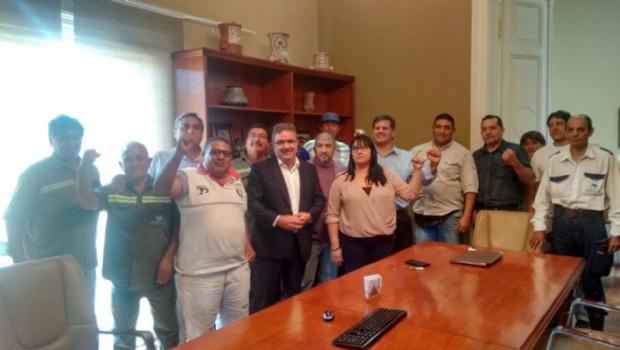 Soem Catamarca firmó el acta del incremento salarial