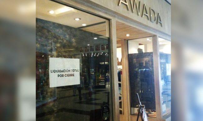 Argentina en liquidación: hasta Juliana Awada tuvo que cerrar su local de ropa