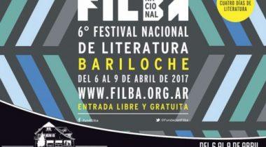 Festival Nacional de Literatura a Bariloche del 6 al 9 de abril