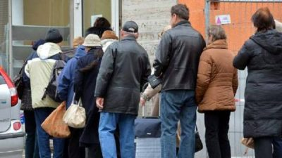 Crece el número de alemanes en riesgo de pobreza