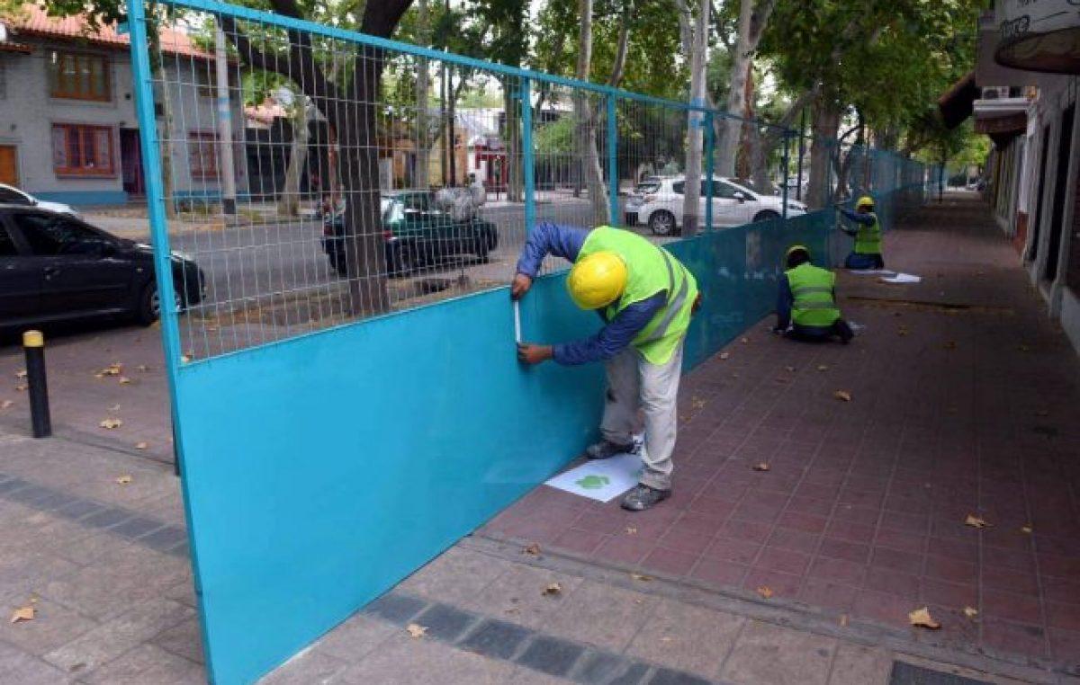 Mendoza: La calle Arístides y la plaza San Martín, ya están en obra