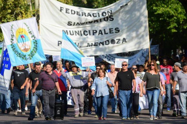Se cayó la paritaria municipal de Mendoza por una diferencia de $ 273
