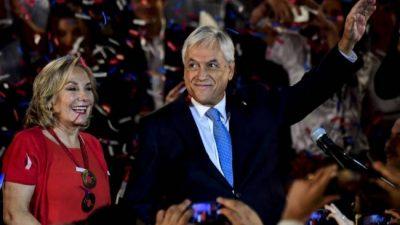 Chile: Piñera calienta la campaña y lanzó su candidatura
