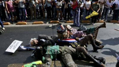 Masivo rechazo a pensiones privadas en Chile
