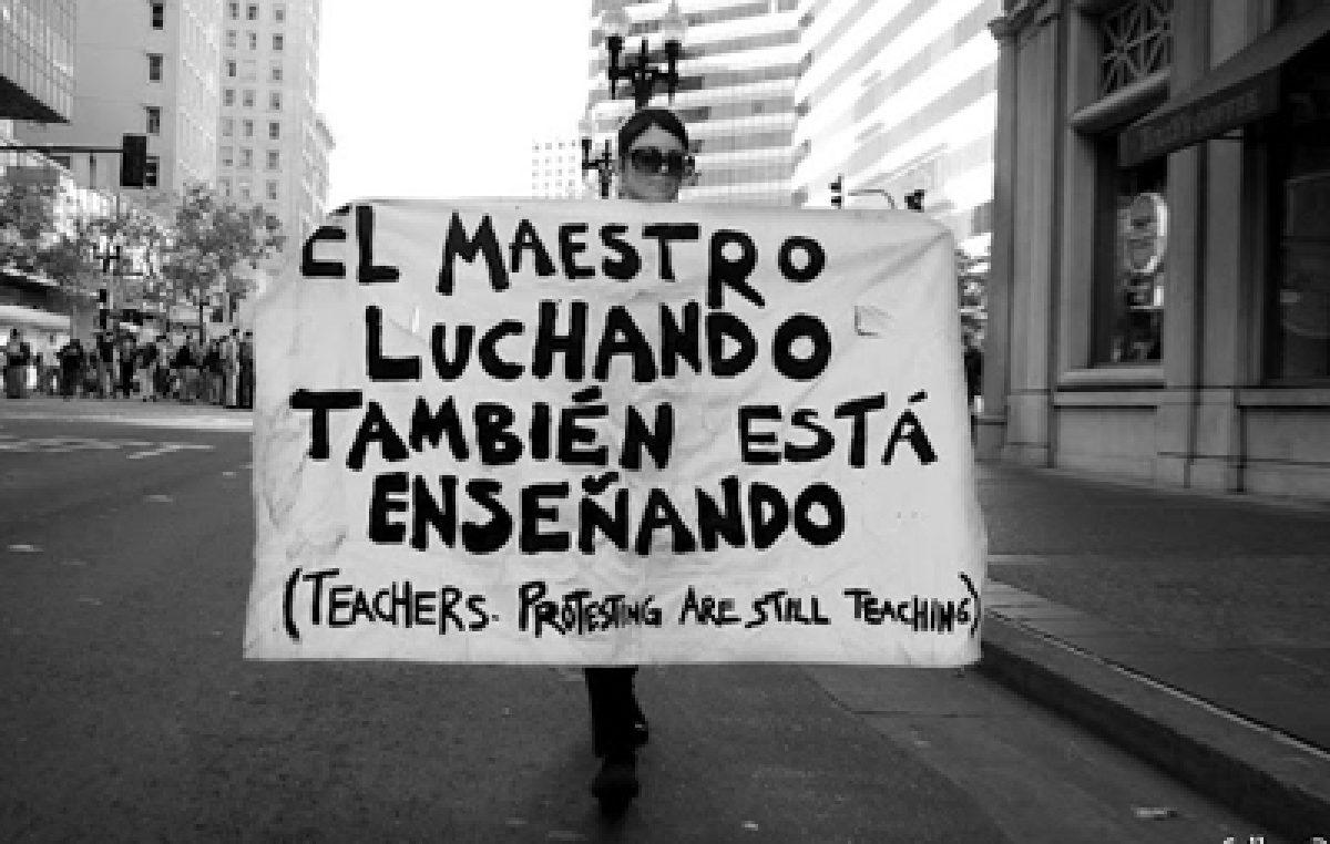 """El """"diálogo"""" PRO y la paritaria nacional docente"""