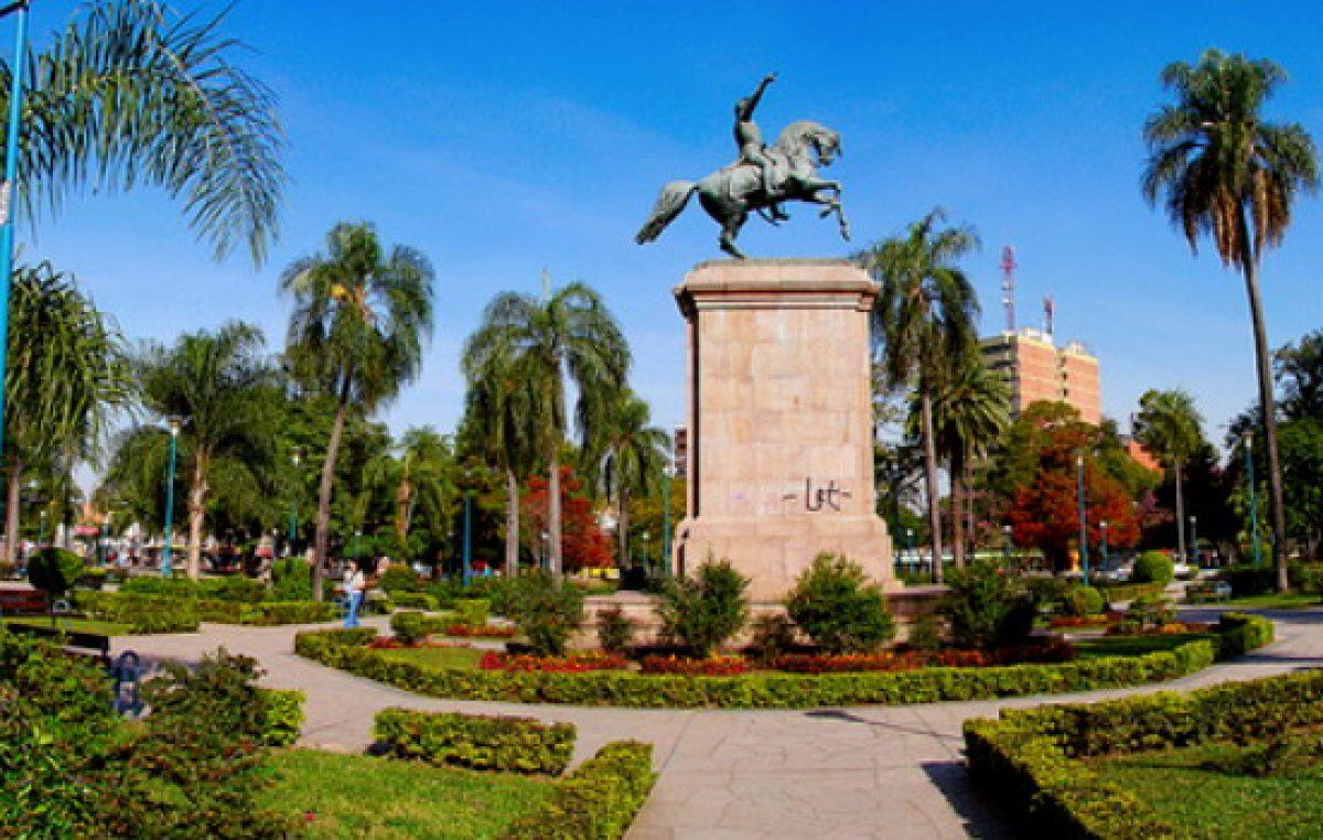 El gobierno chaqueño construirá 100 plazas en toda la provincia