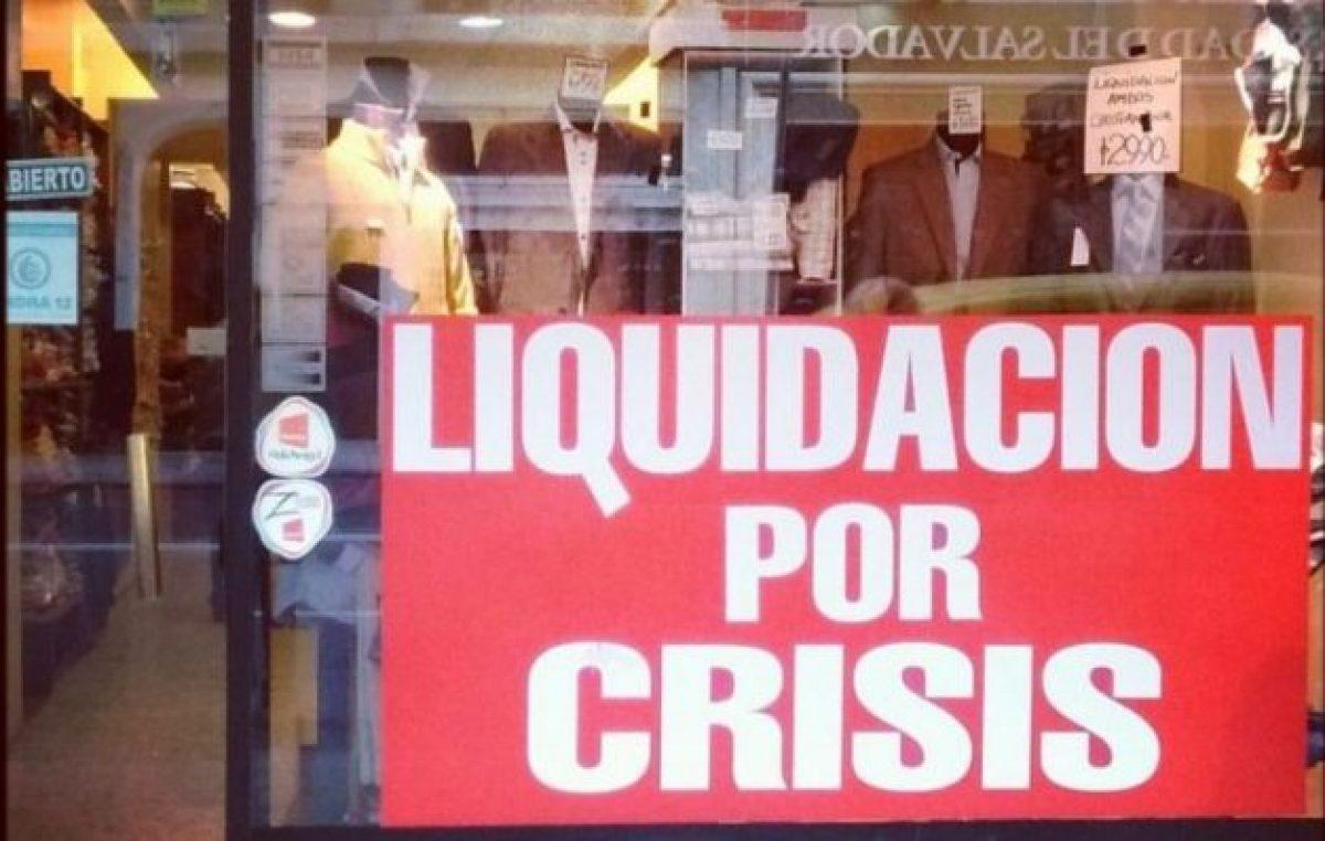 Una crisis confeccionada a medida