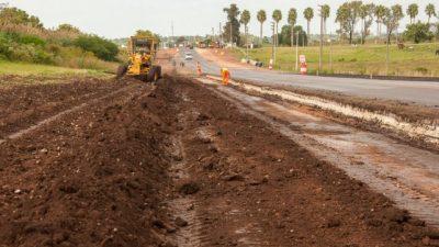 Avanza la construcción de la autovía Paraná Oro Verde
