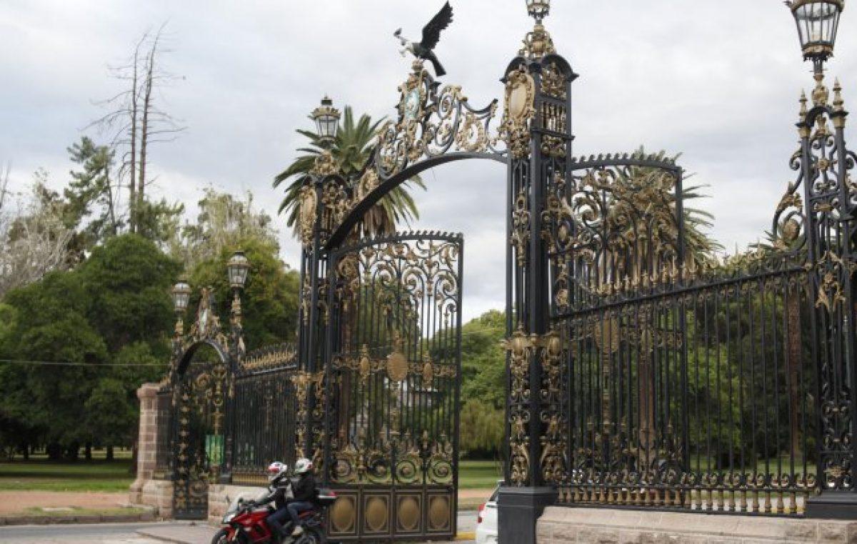 Remodelan el Parque General San Martín y los cortes de calles durarán entre 3 y 4 meses