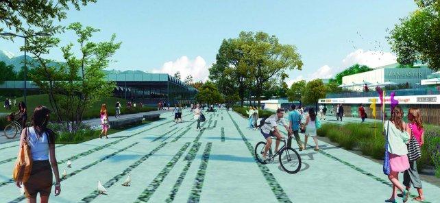 La joya urbanística de Mendoza Capital toma forma