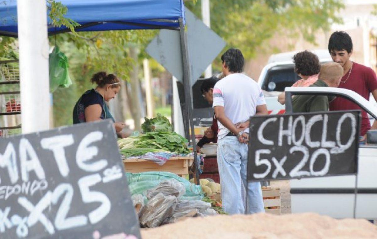 Proliferan puestos callejeros y ferias, sobre todo en el Este de Mendoza
