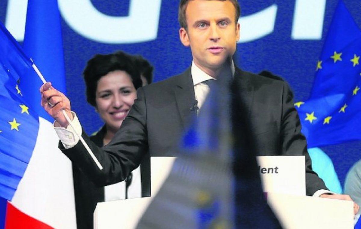 Macron afianza su ventaja en reñidísimo final de campaña en Francia