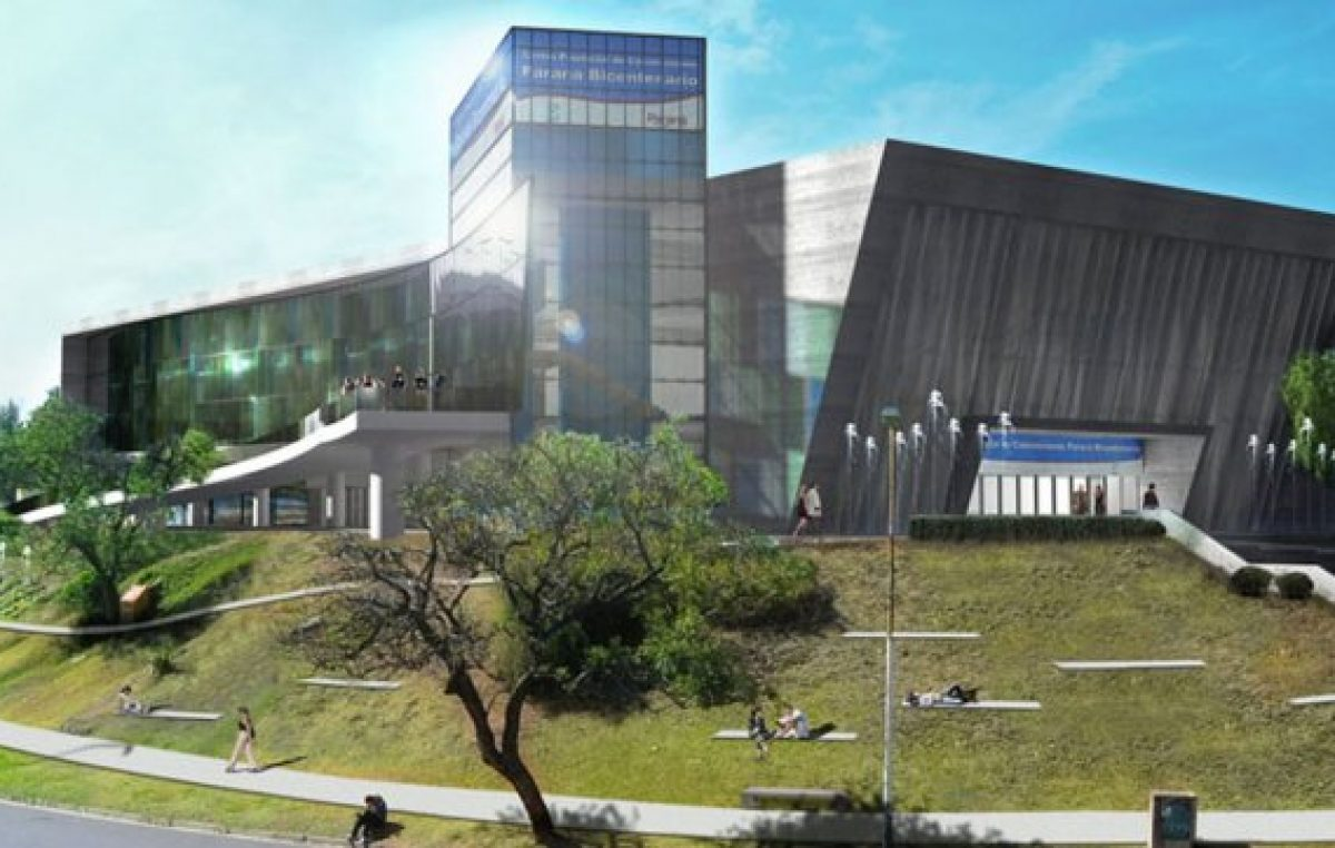 Bordet anunció la inauguración del centro de convenciones de Paraná