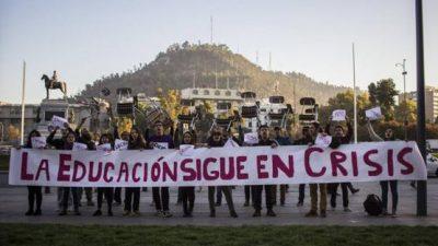 Nueva protesta estudiantil en Chile por estatización de la educación