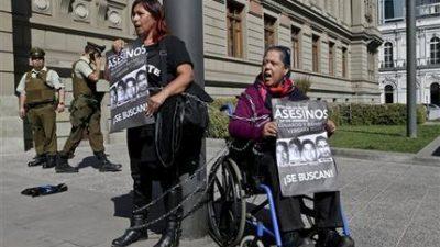 Protestan en Chile por beneficios a criminales de la dictadura