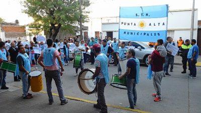 """Punta Alta: """"Con este acuerdo del 18%, lo único que se hizo fue alimentar el fuego"""""""